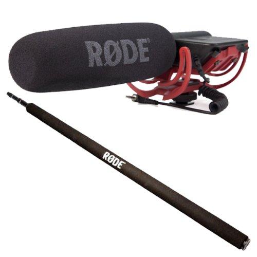 Galleria fotografica Rode VideoMic Rycote microfono direzionale + Micro Boom Pole 2m