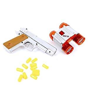 Wonder Kids WDK Partner - A1400143 - Juego de Disparos - Pistola Prismáticos