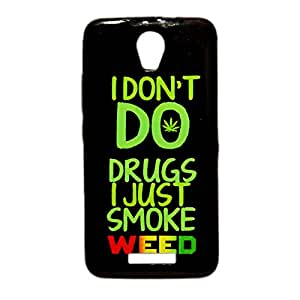 ksc sales New Rubber Finish Printed Silicone Soft Back Case Cover For Micromax Canvas Juice 2
