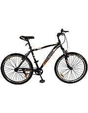 Foxtor FSS Series 26T Single Speed Black/Orange Cycle