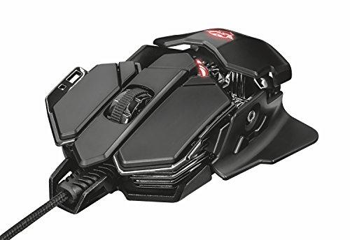 Foto Trust GXT 138 X-Ray Mouse Gaming Illuminato RGB con 10 Pulsanti...