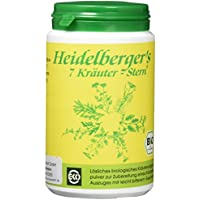 Preisvergleich für Heidelberger's 7-Kräuter-Stern Bio 100g