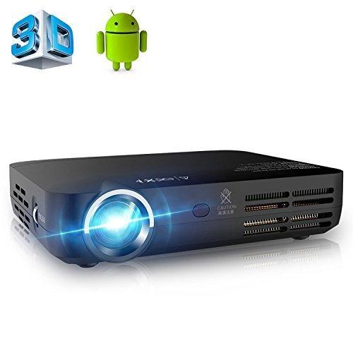 APEMAN Vidéoprojecteur LED Full HD Pico Projecteur Portable DLP 3D Wi-Fi...