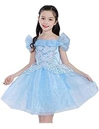 07a12aa51 Disfraz de Princesa Bella Aurora de Cenicienta para niñas pequeñas