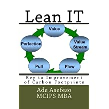Lean It: Key to Improvement of Carbon Footprints by Ade Asefeso McIps Mba (June 03,2014)