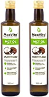 MeaVita MCT olie, 2-pack (2 x 500 ml)