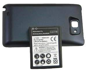 Batterie haute capacité et coque arrière de remplacement pour Samsung Galaxy Note GT-N7000 i9220 5000 mAh