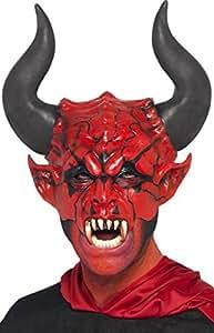 Erwachsene Unisex Halloween Karneval Party Zubehör Gesichtsmaske Horror/Evil/Spaß Gesichtsmaske - Herren, Devil Lord Maske, Einheitsgröße