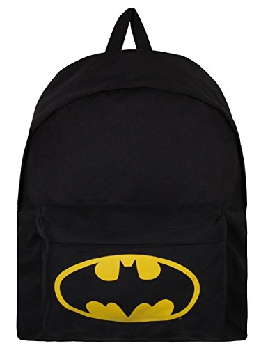 Batman Zaino Zainetto Backpack Logo Half Moon Bay