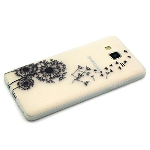Coque pour iPhone 6, iPhone 6 Noctilucent Silicone Coque Slim Transparent Housse, iPhone 6s TPU Coque Souple Etui, iPhone 6 / 6s Silicone Case Soft Cover, Ukayfe Etui de Protection Cas en caoutchouc e Pissenlit volant