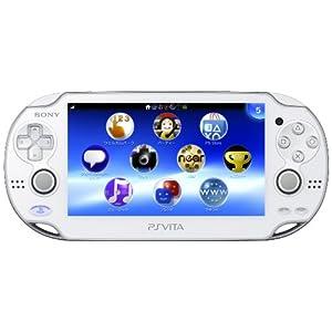 PlayStation Vita (プレイステーション ヴィータ) 3G/Wi‐Fiモデル クリスタル・ホワイト (限定版) (PCH-1100 AB02)【メーカー生産終了】