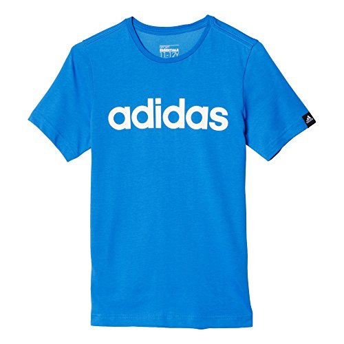 adidas Oberbekleidung Essentials Logo Tee, blau, 176, AK2503