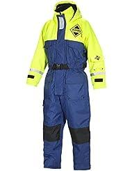 Fladen flotación (845Bañador en azul de amarillo, el traje más ligero en el mercado sin renunciar a la seguridad (XXS)