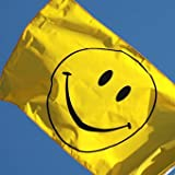 Smiley Face Flag 5FT X 3FT