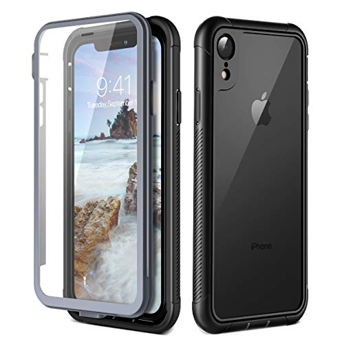 Prologfer Funda iPhone XR 360 Grados Transparente
