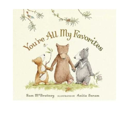 You're All My Favorites (Board book) - Common