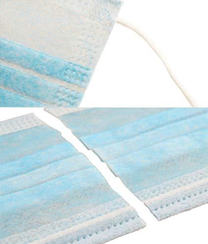 Mascarilla quirúrgica desechable con 3 capas y 50 piezas con elástico