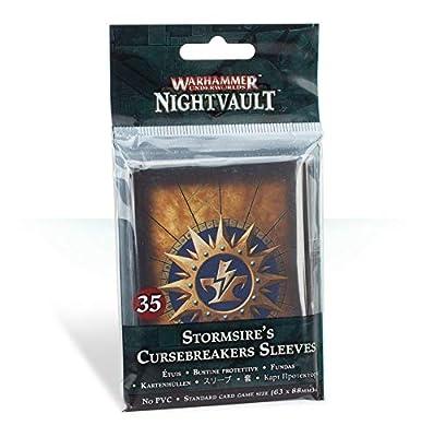 Warhammer Underworlds: Nightvault Stormsire's Cursebreakers Sleeves