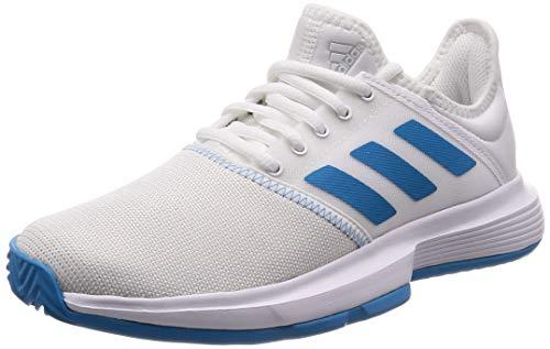 adidas Performance Damen Tennisschuhe GameCourt Weiss/blau (902) 382/3