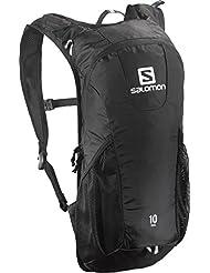 Salomon Trail - Mochila de trail running, 46 x 20 x 12 cm, color negro