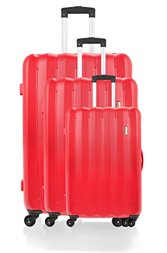 Manoukian Piccadilly Valise, 71 cm, 90 L, Rouge BD-3592