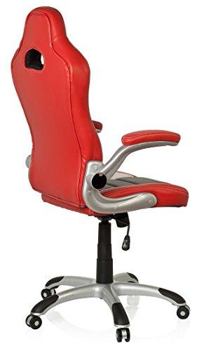 Hjh office racer sport silla gaming y oficina piel - Silla gaming diablo ...