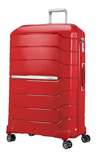 Samsonite Flux Spinner Bagaglio a Mano, XL (81cm-136L), Rosso (Red)