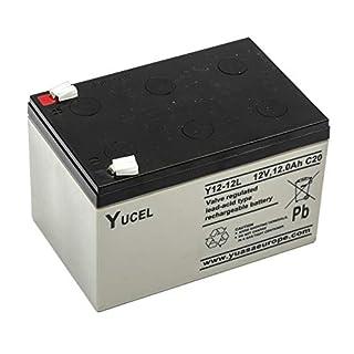Yucel/Yuasa Y12-12 Sealed Lead Acid Battery 12v 12ah Shoprider Altea 4 Mobility Scooter