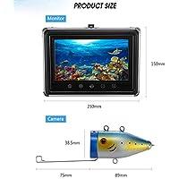 TQ Cámara De La Pesca, De 9 Pulgadas DVR Monitor En Color De Alta Definición 1000TVL Pesca Subacuática Profesional Buscador De Visión De La Cámara con 30M De Cable para Hielo, Lago, Barco, Pesca