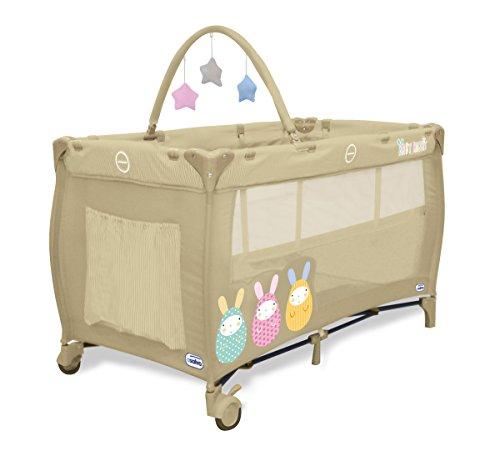 asalvo-complet-duo-cuna-de-viaje-plegable-con-bolsa-de-transporte-diseno-baby-rabbit-color-beige