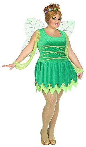 Atosa-39551 Disfraz Hada, Color Verde, XL (39551