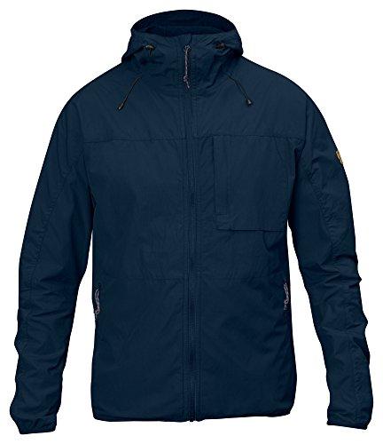 Fjällräven Herren High Coast Wind Jacket Anorak, Navy, M - Verstellbare Paddel-design