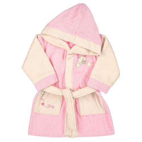 Sterntaler 96908-104035 Mädchen Babykleidung/ Bademntel, Gr. 104 0 (rosa) (rosa)