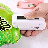 riklos ABS Packet resealer bolso Sealer Heat Seals Alimentos conservación al vacío sellos Llanta sellado