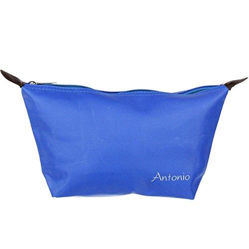 Antonio, Trousse de toilette Unisexe Adulte Multicolore bleu clair