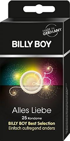 Billy Boy Alles Liebe - Mixpackung Kondome, 1er Pack (1 x 25 Stück)