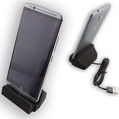caseroxx - USB Type-C Docking Station, caricabatteria Desktop per Ulefone Gemini, Caricabatterie da tavolo qualità (Gemini Tavolo)