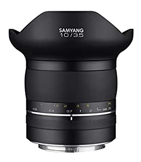 Samyang sa8003 Objetivo XP 10 mm, f3.5 Canon EF. (B07P9T5V1J) | Amazon price tracker / tracking, Amazon price history charts, Amazon price watches, Amazon price drop alerts