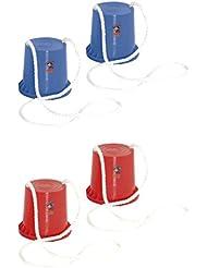 HUDORA Topfstelzen Kinder joey - 1 Paar rot oder blau | Laufstelzen