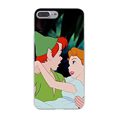 Disney Peter Pan Schutzhülle Appel Iphone Serie transparent Case Appel Iphone 7/8 Comic Cartoon Hülle -AcAccessoires #0005-09 (Iphone 7/8)