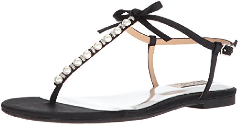 badgley mischka femmes femmes femmes & eacute; chérie flat sandale b074r9dmgg parent 31384c