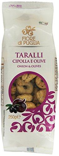 Fiore di Puglia Taralli alla Cipolla e Olive - 250 gr