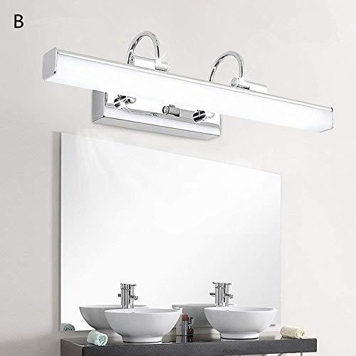 Lampada da parete a specchio moderna semplice a led per il bagno specchio per il bagno specchio per il bagno b-10w-60 * 15