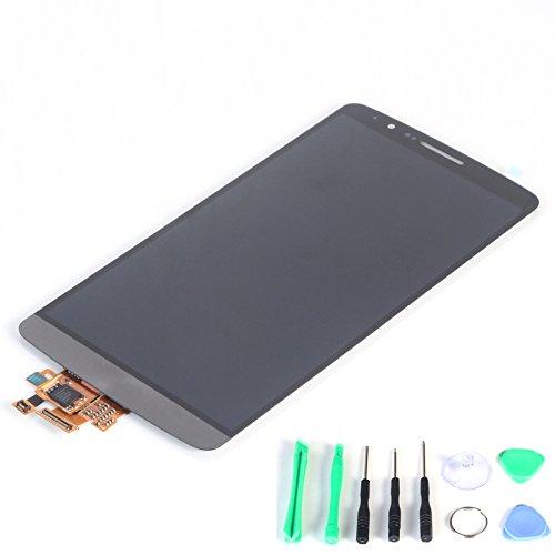 Generic LCD Display mit Touchscreen Digitizer Ersatz für LG Optimus G3 D830 D855 D851 VS985 D850 Black+Gray