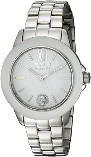 Versus by Versace Women's 'Abbey Road' Quartz Stainless Steel Casual Watch, Color Silver-Toned (Model: SCC020016)