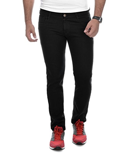 Ben Martin Men's Relaxed Fit Jeans (BMW-27-BLK-p1-30_Black_30)