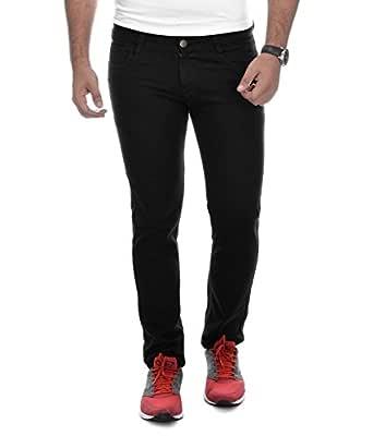 Ben Martin Men's Relaxed Jeans (BM-27-BLK-p1-28, Black, 28)