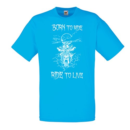 n4690-t-shirt-pour-hommes-born-to-ride-motorcycle-clothing-small-bleu-multicolore