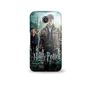 Warner Bros Harry Potter Back Cover for Google Nexus 6 (Multicolor)