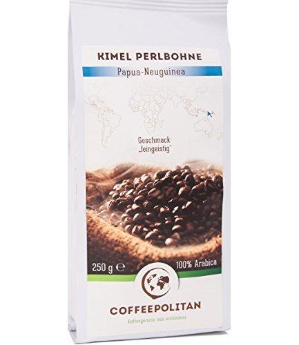 Coffeepolitan Kimel Perlbohne - Röstkaffee aus Papua-Neuguinea - ganze Bohne 250g 1 Packung